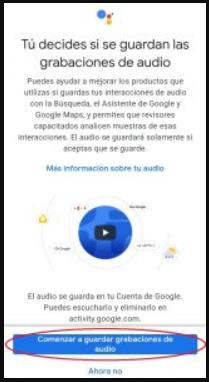 8. Sauvegarde des enregistrements audio