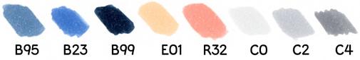 Tutoriel de dessin du chat Kawaii Tableau des couleurs