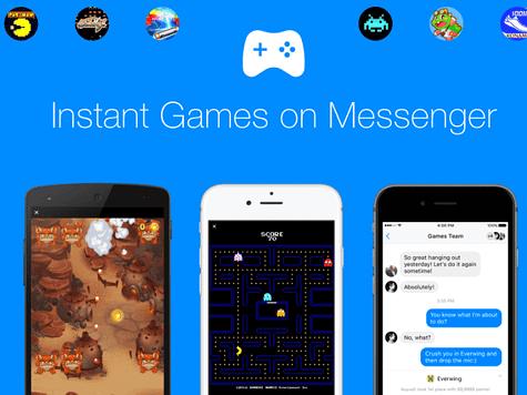Les meilleurs jeux Facebook Messenger / Instant