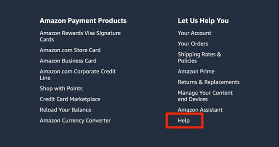 supprimer votre compte Amazon
