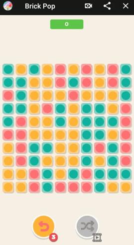 Brick Pop jeux messenger