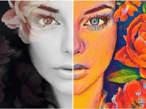 transformer une photo en dessin