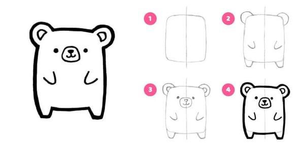 Ces dessins sont très faciles et amusants