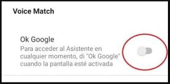 6. Activer Google Ok
